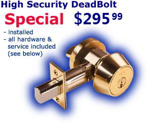 High Security Lock