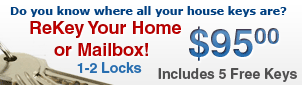 Rekey Your Home Vancouver