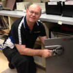 Open locked Sentry Electronic Data Safe