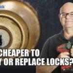 cheaper-to-rekey-or-replace-lock-garage-door