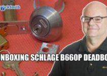 Deadbolt-Lock-Schlage-B660-mr-locksmith-garage-door